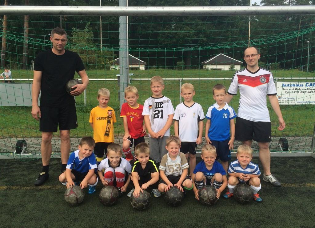 G-Jugend FV Ottendorf-Okrilla 05 - Trainingsauftakt