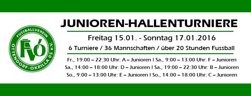 Junioren-Hallenturniere des FV Ottendorf-Okrilla 05 e.V.